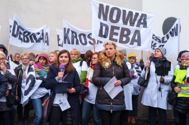 2018.11.14 Jesień pod Ministerstwem Zdrowia – manifestacja – PODZIĘKOWANIA