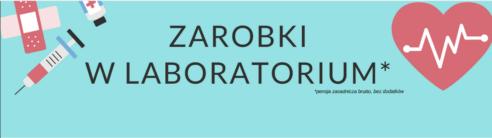 2018.11.11 WYNIKI ANKIETY na temat ZAROBKÓW w LABORATORIACH medycznych