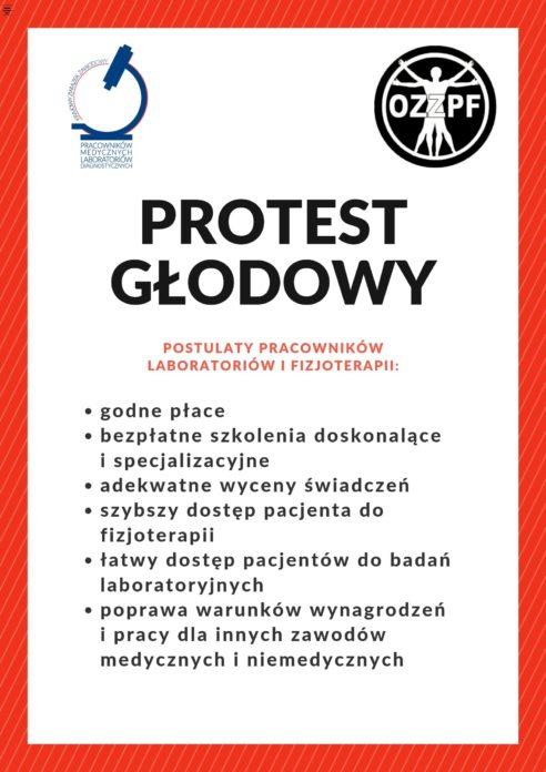 2019-05-21 PROTEST GŁODOWY KZZPMLD i OZZPF