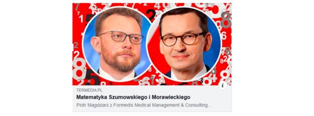 Kreatywna księgowość ministra zdrowia i premiera Morawieckiego