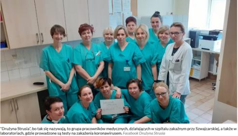 Pandemia koronawirusa a zainteresowanie mediów pracownikami laboratoriów