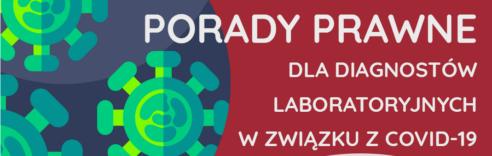 KIDL udostępnia porady prawne dla diagnostów na czas pandemii koronawirusa