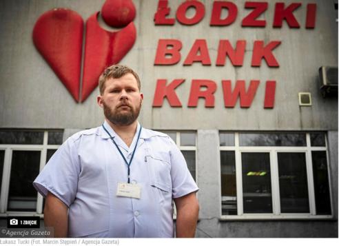 Wywiad z wiceprzewodniczącym KZZPMLD w łódzkiej Gazecie Wyborczej