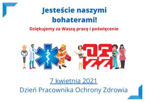 Światowy Dzień Zdrowia i Dzień Pracowników Ochrony Zdrowia
