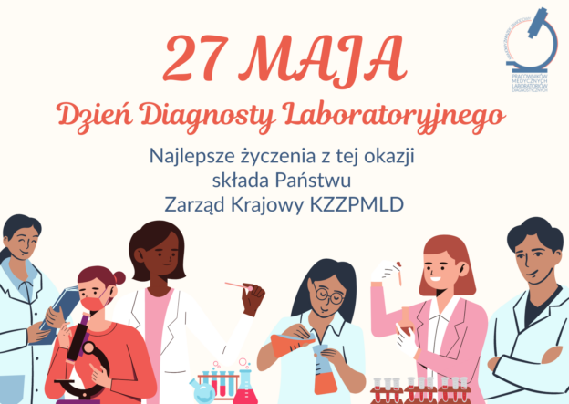27 Maja – Najlepsze życzenia z okazji Dnia Diagnosty Laboratoryjnego