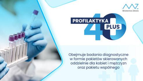 Program #Profilaktyka40Plus