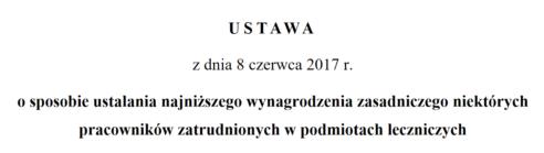Nowelizacja ustawy o wynagrodzeniach już w Komisji Zdrowia i Komisji Finansów