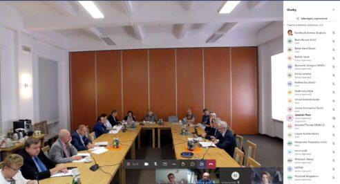 Kolejne posiedzenie Trójstronnego Zespołu ds. Ochrony Zdrowia